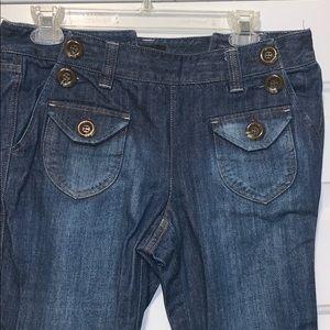 INC International Concepts Sailor Style Jeans